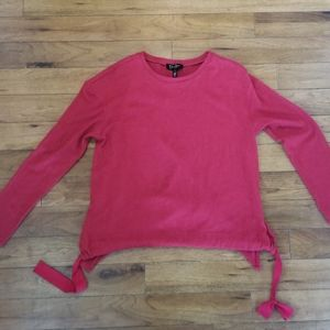 Jessica Simpson Red Tie-waist Sweater